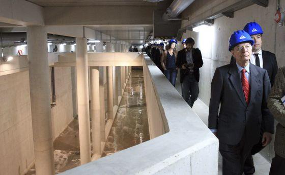 Inaugurado el mayor almacén del agua desbordada de los colectores
